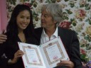 Hello,<br>First I would like to thank to Thaikisses.<br><br>We get married on 9. November 2012.<br><br>We are happy together. <br><br>Now, we are living in Swiss, we have our own company.<br><br>In the future, We plan to go to Thailand to make a businness there.<br><br>Thank you very much Thaikisses!!!!<br><br>                  <br>